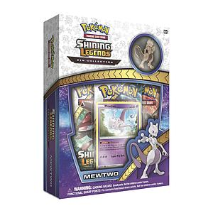 Pokemon Trading Card Game: Shining Legends Mewtwo 3-Pack Blister with Pin