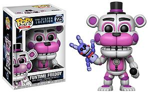 Pop! Games Five Nights at Freddy's Sister Location Vinyl Figure Funtime Freddy #225