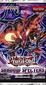 Yugioh Trading Card Game Shadow Specters: Booster Pack
