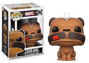 Pop! Marvel Inhumans Vinyl Bobble-Head Lockjaw #257