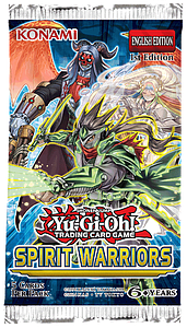 Yugioh Trading Card Game Duelist Pack: Spirit Warriors Booster Pack