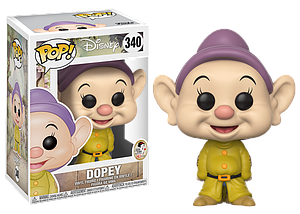 Pop! Disney Snow White & the Seven Dwarfs Vinyl Figure Dopey #340