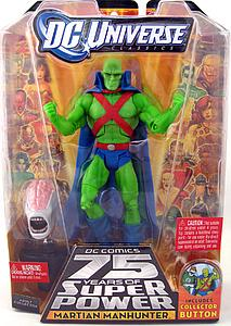 "Mattel DC Universe Justice League 6"" Series 15 Martian Manhunter"