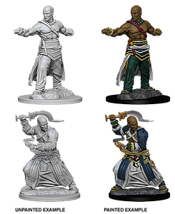 Pathfinder Roleplaying Game Unpainted Miniatures: Human Male Monk