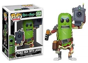 Pop! Animation Rick and Morty Vinyl Figure Pickle Rick (with Laser) #332