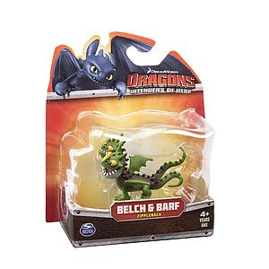 "Spin Master Dragons: Defender of Berk 3"": Belch & Barf Zippleback"
