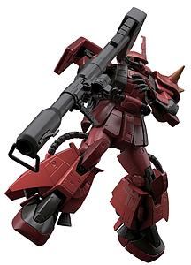 Gundam Real Grade 1/144 Scale Model Kit: MS-06R-2 Johnny Ridden's Zaku II