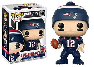 Pop! Football NFL Vinyl Figure Tom Brady (New England Patriots) #59 (Patriots Color Rush)
