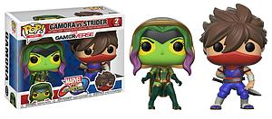 Pop! Games Marvel vs. Capcom Vinyl Figure 2-Pack Gamora vs. Strider