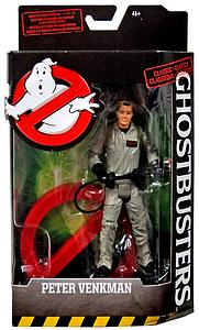 "Mattel Ghostbusters BAF No-Ghost Logo Series 6"" Action Figure Peter Venkman"