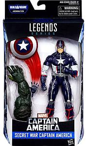 "Marvel Legends BAF Abonimation Series Civil Wars 6"" Action Figure Secret War Captain America"