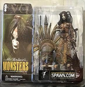Mcfarlane Monsters Series 1 Voodoo Queen (Bloody Package Variant)