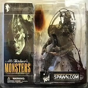 Mcfarlane Monsters Series 1 Frankenstein (Bloody Package Variant)