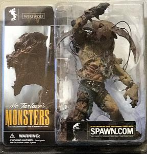 Mcfarlane Monsters Series 1 Werewolf (Clean Package)