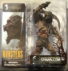 Mcfarlane Monsters Series 1 Werewolf (Bloody Package Variant)