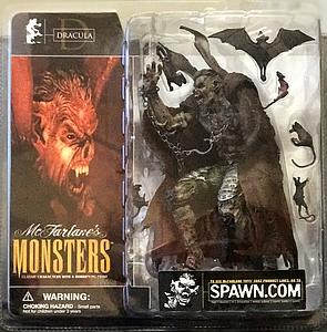 Mcfarlane Monsters Series 1 Dracula (Clean Package)