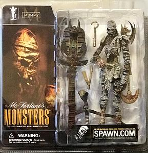 Mcfarlane Monsters Series 1 Mummy (Clean Package)