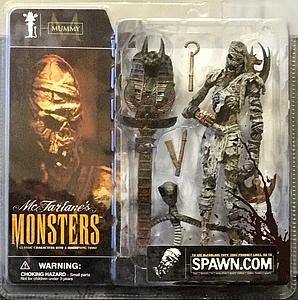 Mcfarlane Monsters Series 1 Mummy (Bloody Package Variant)