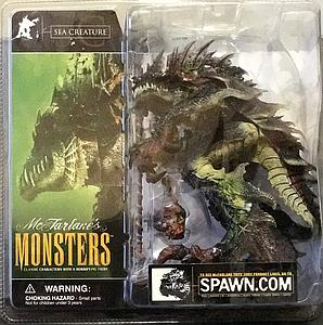 Mcfarlane Monsters Series 1 Sea Creature (Clean Package)