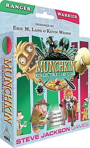 Munchkin Collectible Card Game: Ranger and Warrior Starter Set