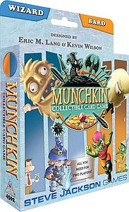 Munchkin Collectible Card Game: Wizard and Bard Starter Set