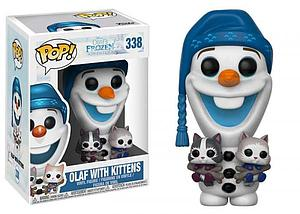 Pop! Disney Olaf's Frozen Adventure Vinyl Figure Olaf with Kittens #338