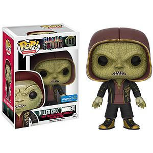 Pop! Heroes Suicide Squad Vinyl Figure Killer Croc (Hooded) #150 Walmart Exclusive