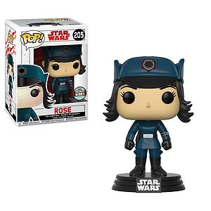 Pop! Star Wars The Last Jedi Vinyl Bobble-Head Rose in Disguise #205 Specialty Series Exclusive
