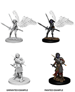 Dungeons & Dragons Nolzur's Marvelous Unpainted Miniatures: Aasimar Female Paladin