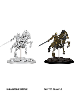 Dungeons & Dragons Nolzur's Marvelous Unpainted Miniatures: Mini-Skeleton Knight on Horse