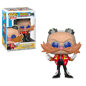 Pop! Games Sonic the Hedgehog Vinyl Figure Dr. Eggman #286