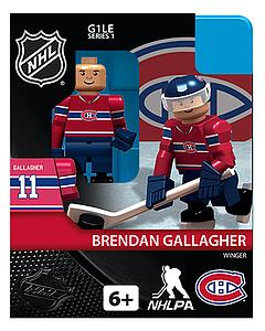 NHL Hockey Minifigures: Brendan Gallagher (Montreal Canadiens)