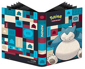 Pokemon 9-Pocket Pro-Binder: Snorlax