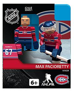NHL Hockey Minifigures: Max Pacioretty (Montreal Canadiens)
