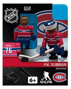 NHL Hockey Minifigures: PK Subban (Montreal Canadiens)