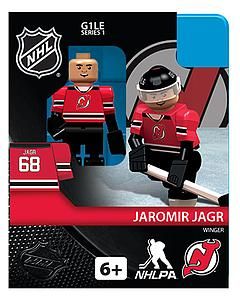 NHL Hockey Minifigures: Jaromir Jagr (New Jersey Devils)