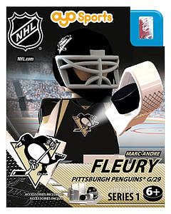 NHL Hockey Minifigures: Marc-Andre Fleury (Pittsburgh Penguins)