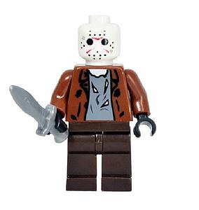 Movies Friday the 13th Minifigure: Jason Voorhees