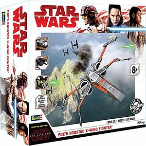 Revell Star Wars SnapTite Model Kit 1/78 Poe's Boosted X-Wing Fighter (RMX1671)