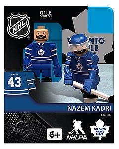 NHL Hockey Minifigures: Nazem Kadri (Toronto Maple Leafs)