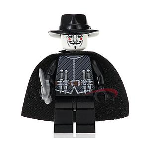 Movies V For Vendetta Minifigure: Guy Fawkes