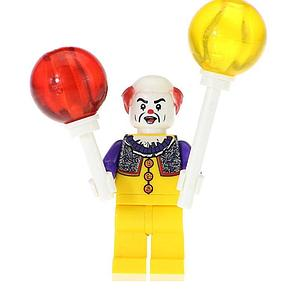 Movies IT Minifigure: Pennywise the Clown