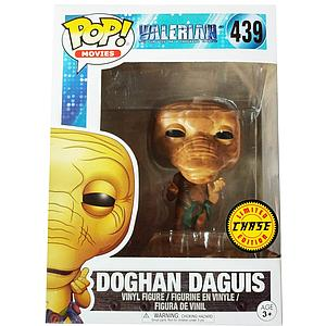 Pop! Movies Valerian & the City of a Thousand Planets Vinyl Figure Doghan Daguis (Green Bag) #439 (Chase)