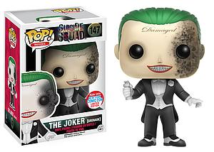 Pop! Heroes Suicide Squad Vinyl Figure The Joker (Grenade) #147 2016 New York Comic Con Exclusive