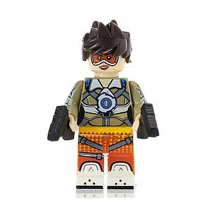 Games Overwatch Minifigure: Tracer