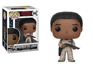 Pop! Television Stranger Things 2 Vinyl Figure Ghostbuster Lucas #548