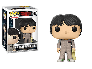 Pop! Television Stranger Things 2 Vinyl Figure Ghostbuster Mike #546