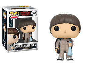 Pop! Television Stranger Things 2 Vinyl Figure Ghostbuster Will #547