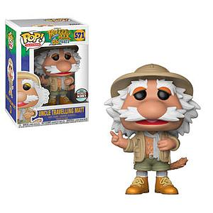 Pop! Television Fraggle Rock Vinyl Figure Travelling Matt #571 Specialty Series Exclusive