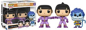Pop! Heroes DC Super Heroes Vinyl Figure 3-Pack Wonder Twins 2017 Summer Convention Exclusive